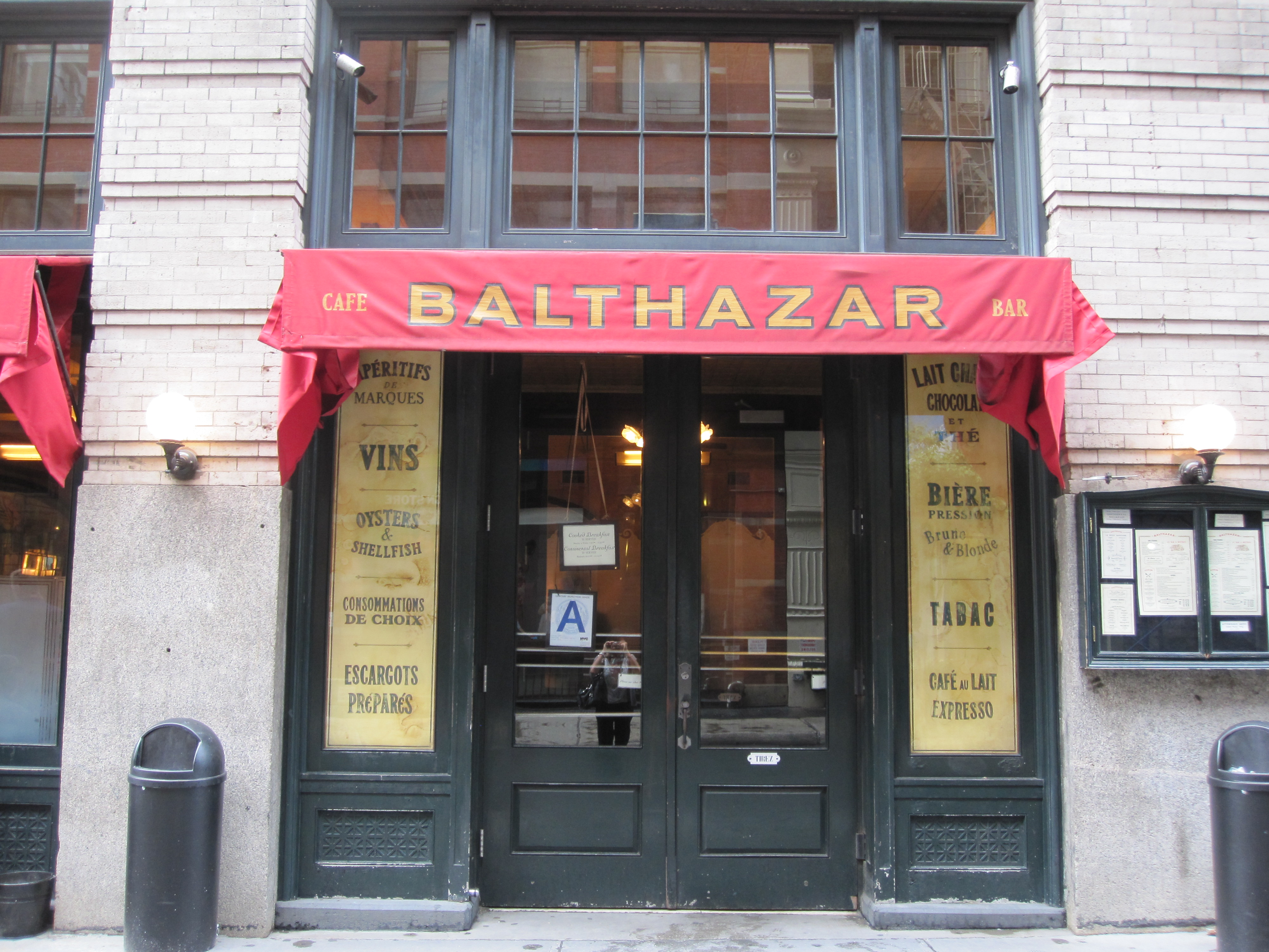 36 hours in nyc gotham bar grill the high line and for Balthazar reservations