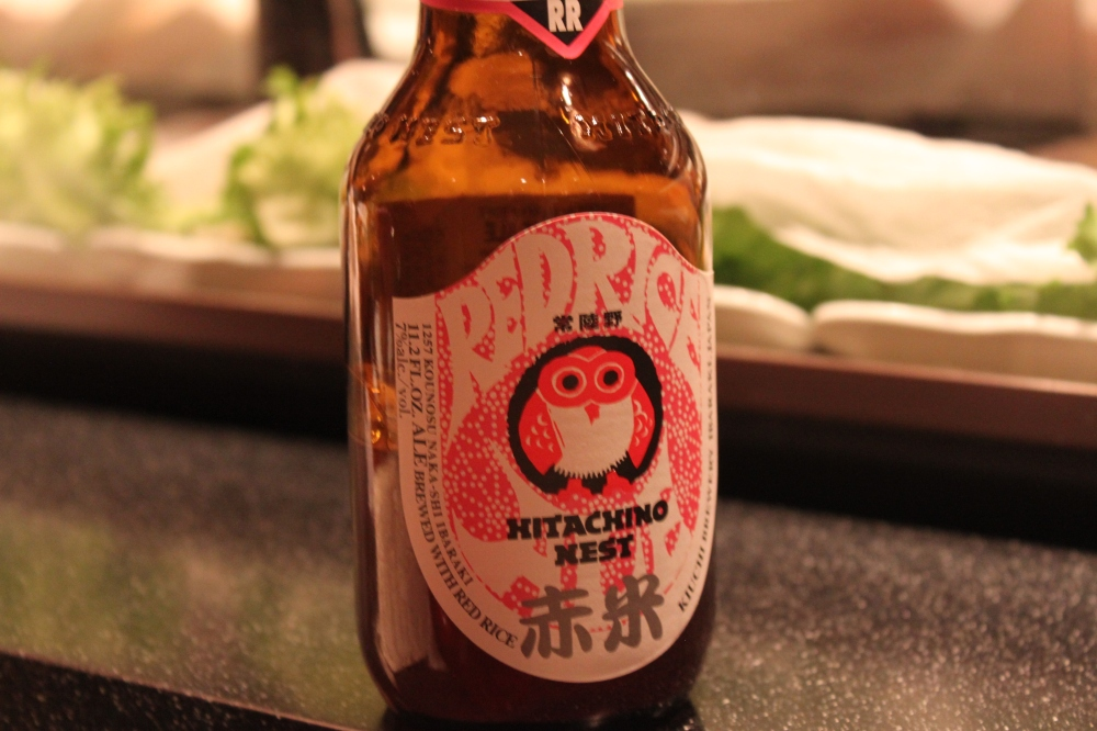 Hitachino Nest Red Rice Beer