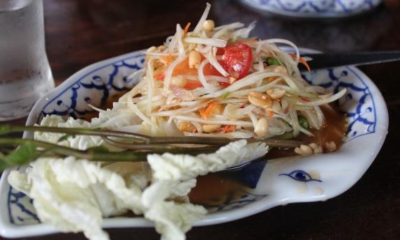 Ban Khun Mae Bangkok Papaya Salad