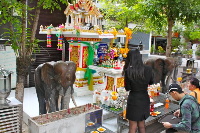 Spirit House in Bangkok