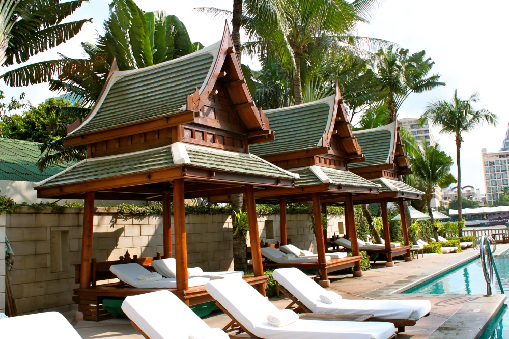 The Peninusula Bangkok Pool Cabanas