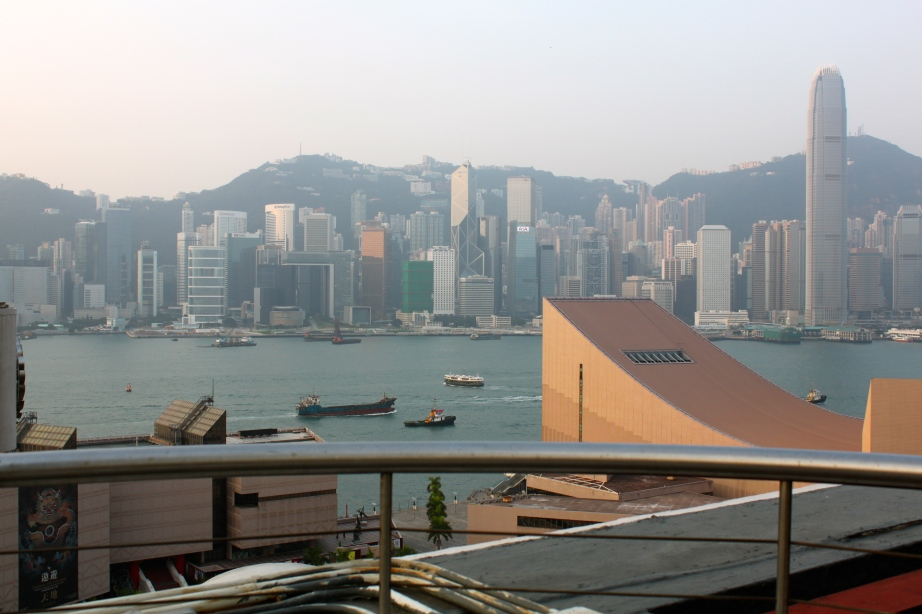 View of Hong Kong Island From Sheraton