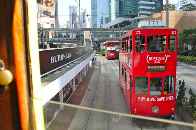 View of Trolley from Trolley Hong Kong