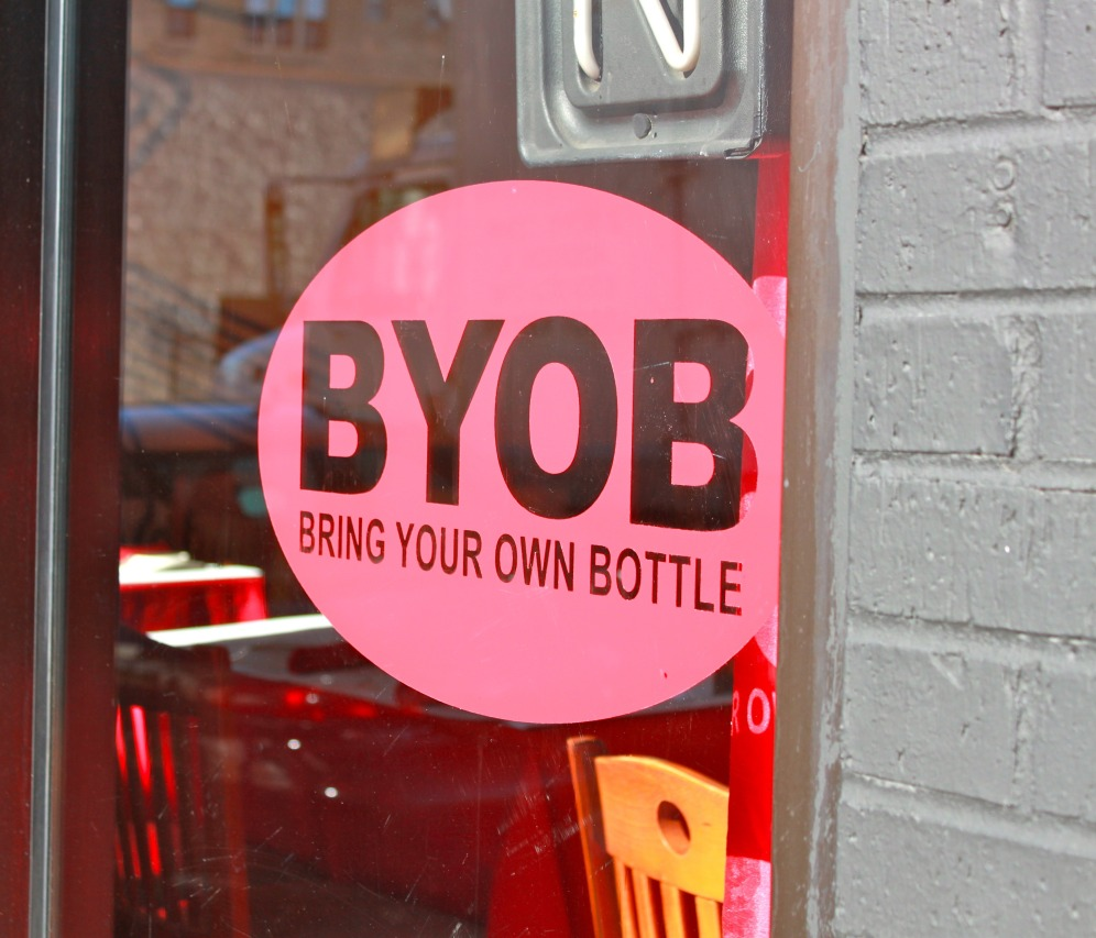 Ay Ay Picante BYOB Sign