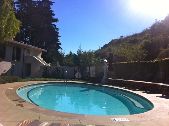 Cavallo Point Meditation Pool