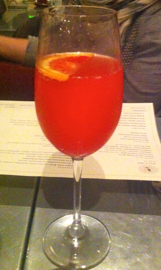 Delfina's Blood Orange Bellini