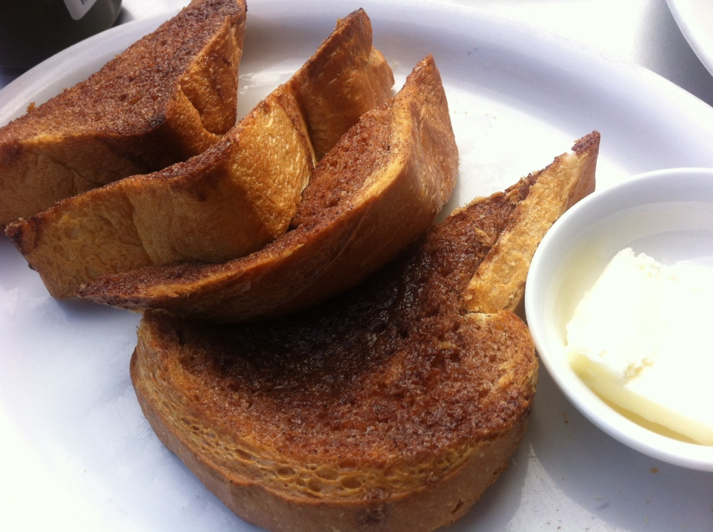 Il Cane Rosso Caramelized Cinnamon toast‏