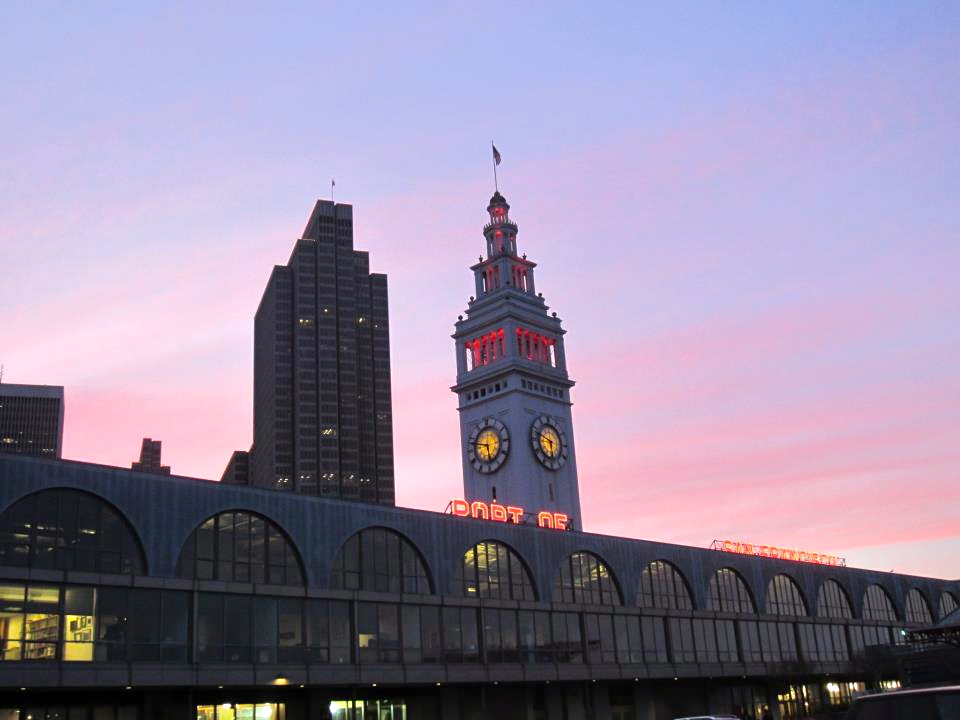 Sunset @ Ferry Building