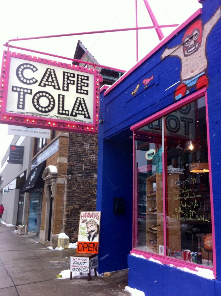Cafe Tola Front