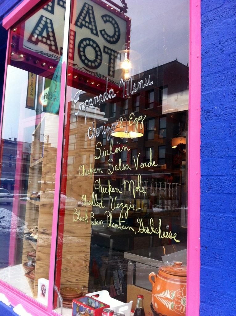 Cafe Tola Window