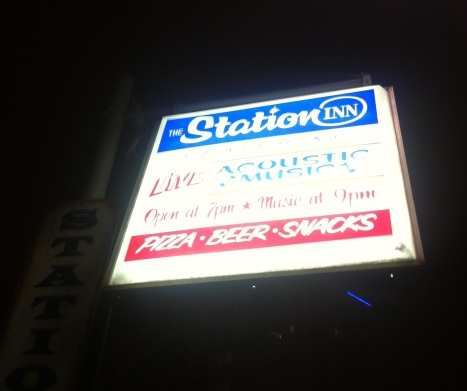 Station Inn Sign