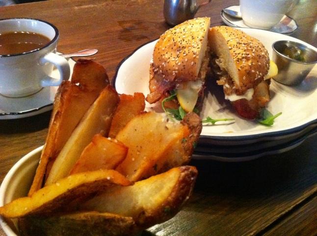 Grange Hall Burger Bar Burger Fries