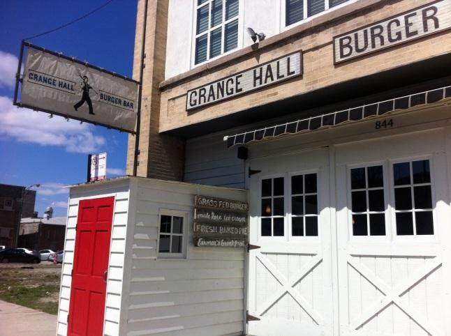 Grange Hall Burger Bar Outside