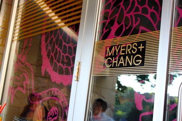 Myers and Change Door Logo