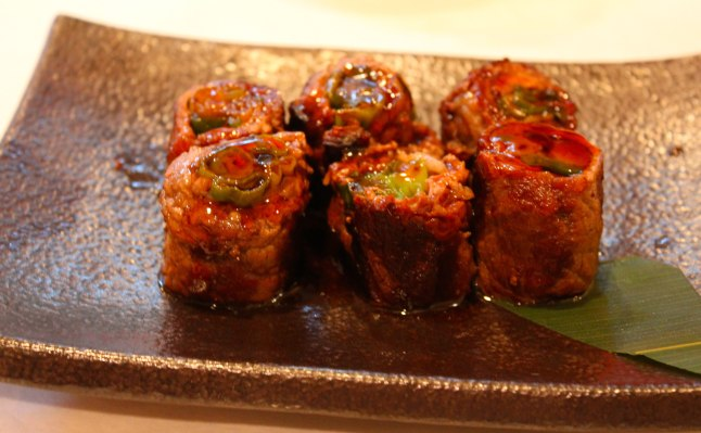 Sushi Seki Beef Negimaki