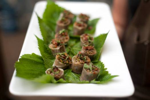Belly Q Summer rice paper roll
