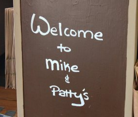 Mike & Patty's Sign