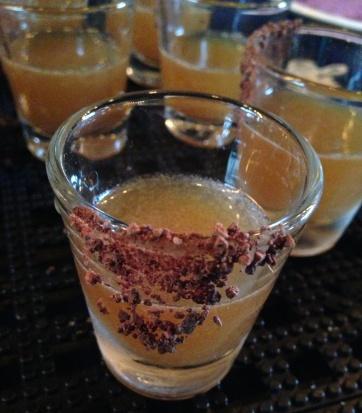 TCHO tamarind shot