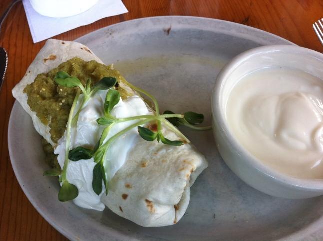 Ria's Bluebird Burrito