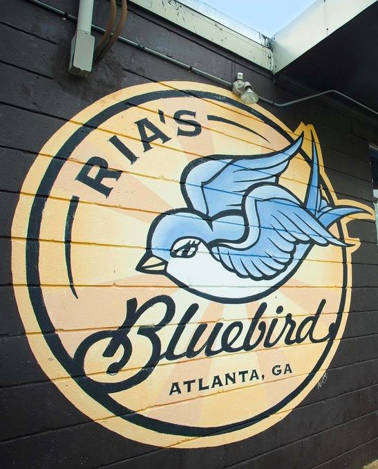 Ria's Bluebird Logo