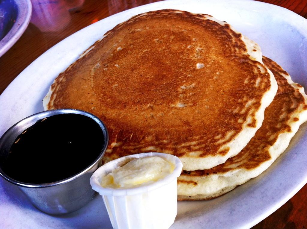 Pancakes Using Cake Mix