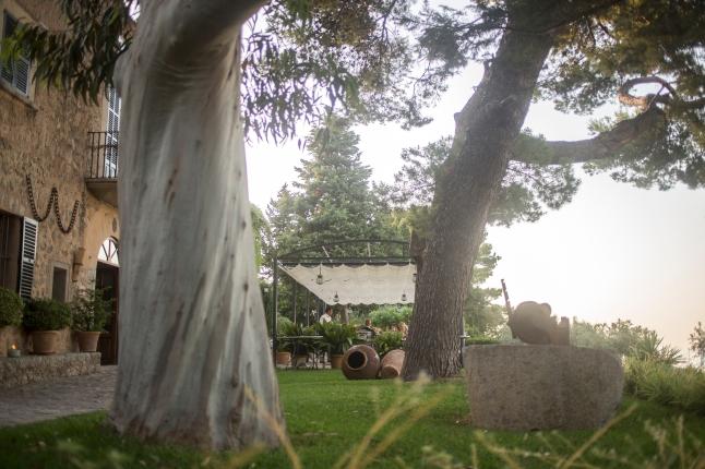 Sa Pedrissa View of Terrace