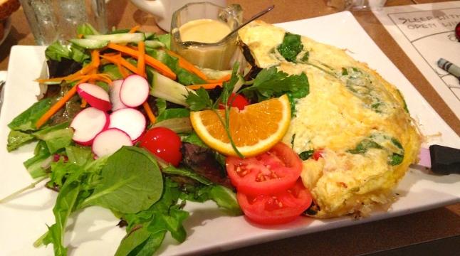Tweet 3 Uncaged Egg Omelette