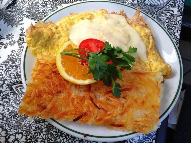Tweet Heavenly Havarti Omelette
