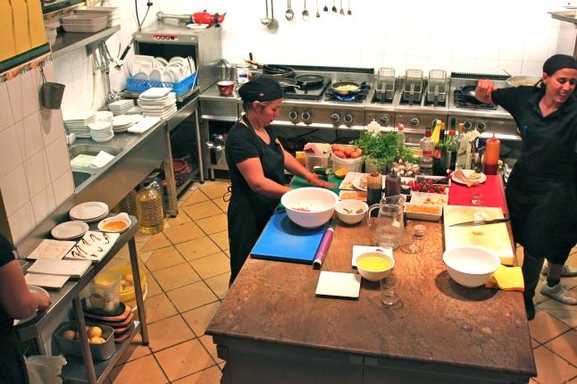 Xelini The Barrigón Kitchen
