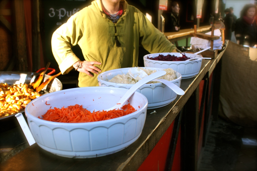 Erfurt Christmas Market Food