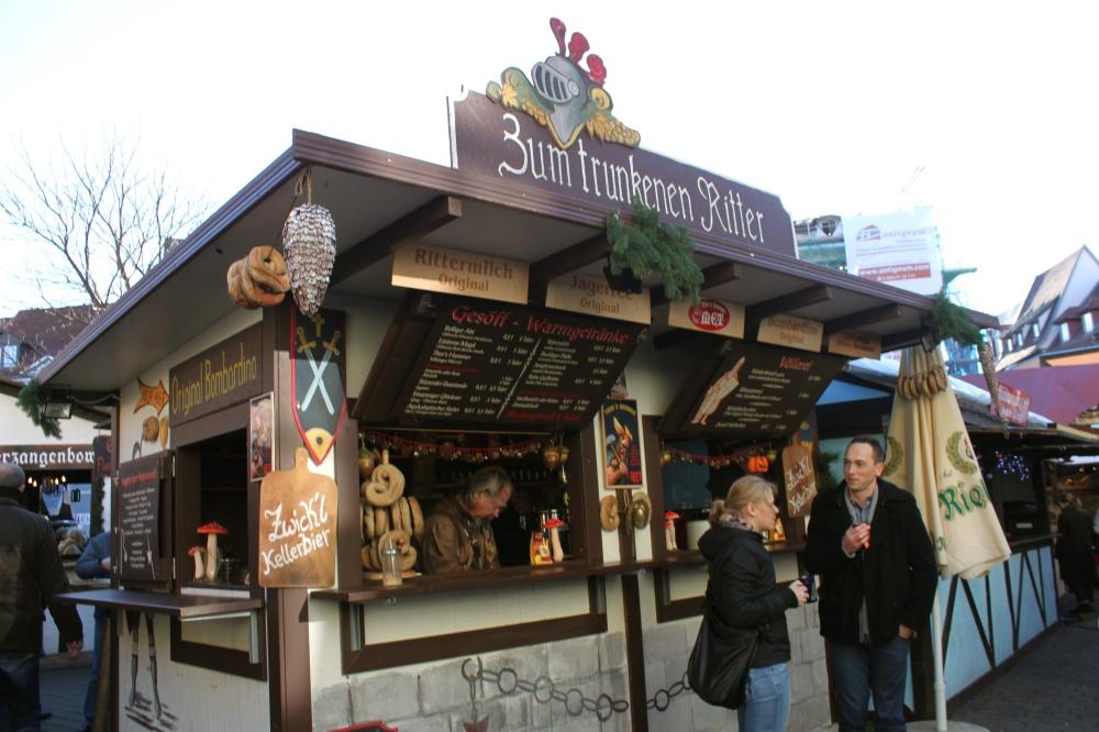 Erfurt Christmas Market Ritter Stand