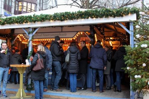 Hamburg Town Hall Christmas Market Gluwein