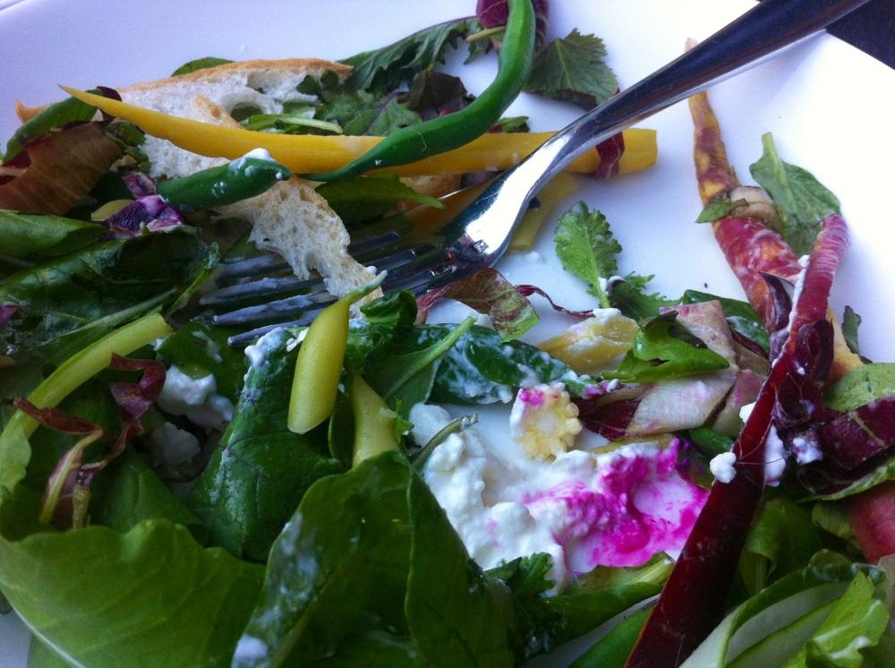 Wood Garden Salad