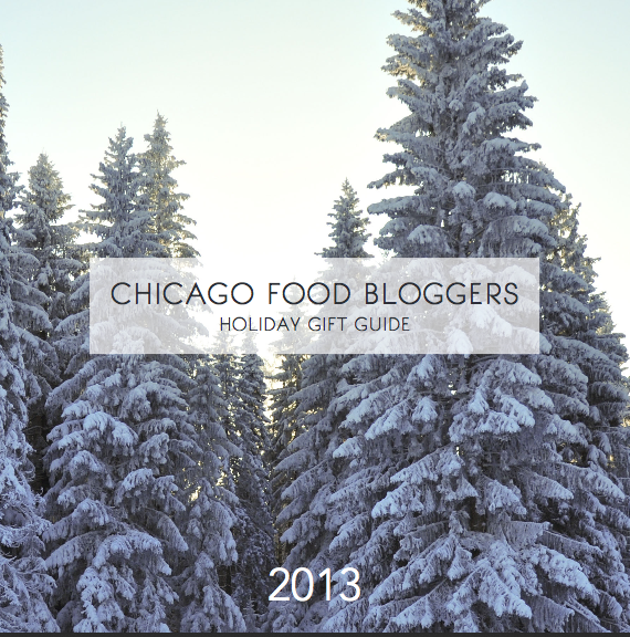 Chicago Food Bloggers Gift Guide Cover
