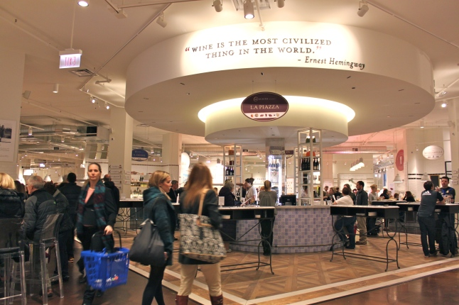 Eataly Chicago 2nd Floor Entrance