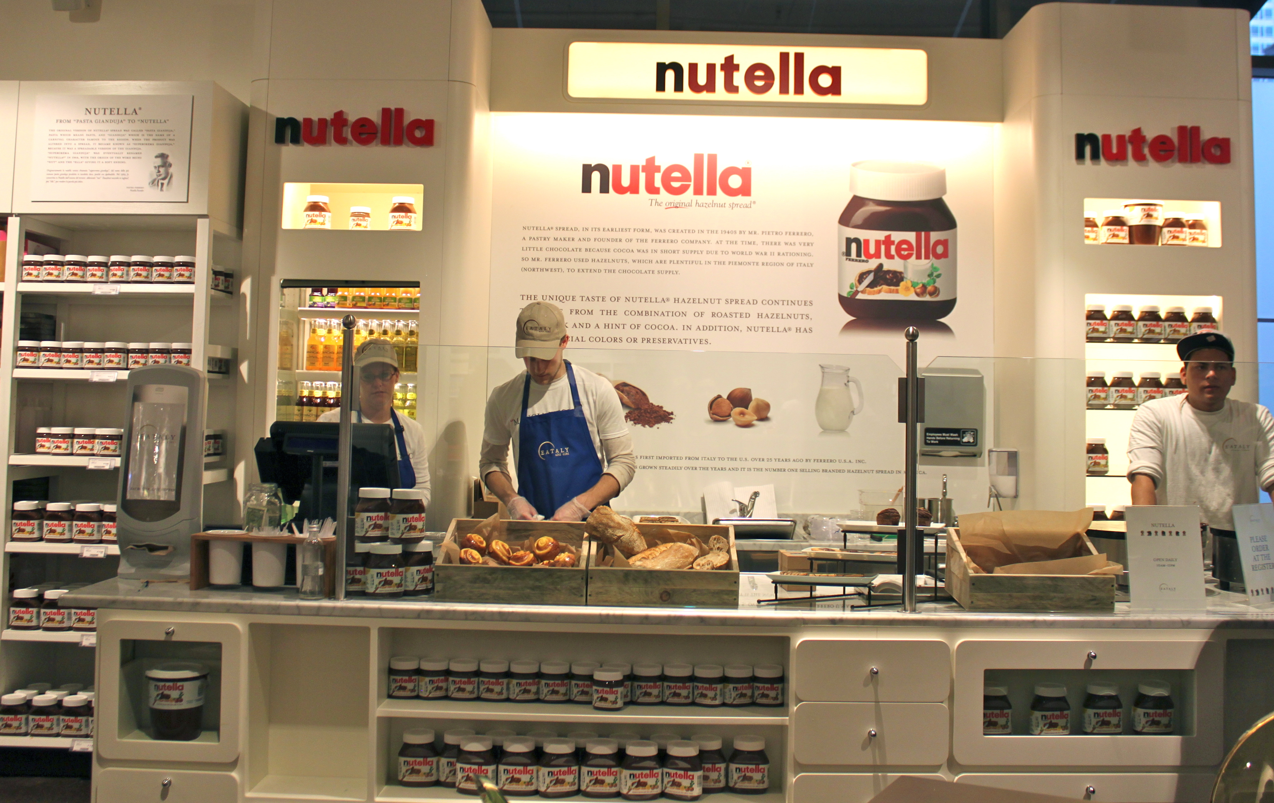 Eataly Chicago Nutella Bar Alicia Tastes Life
