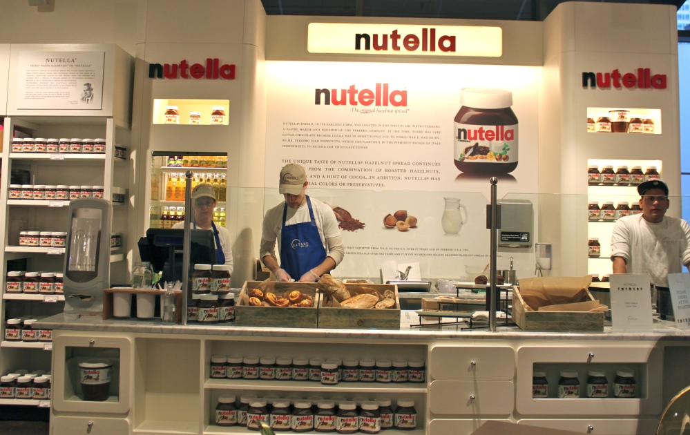 Eataly Chicago Nutella Bar