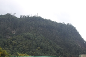 Bogotá Monserrate From Road