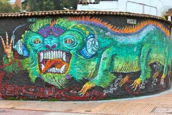 Bogotá Street Art DJ