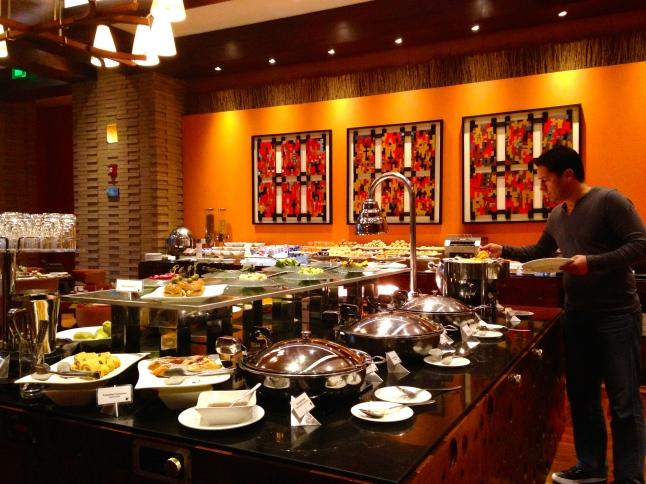 JW Marriott Breakfast