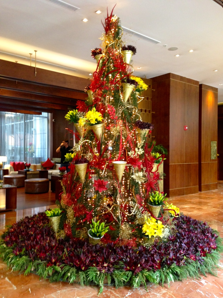 JW Marriott Xmas Tree