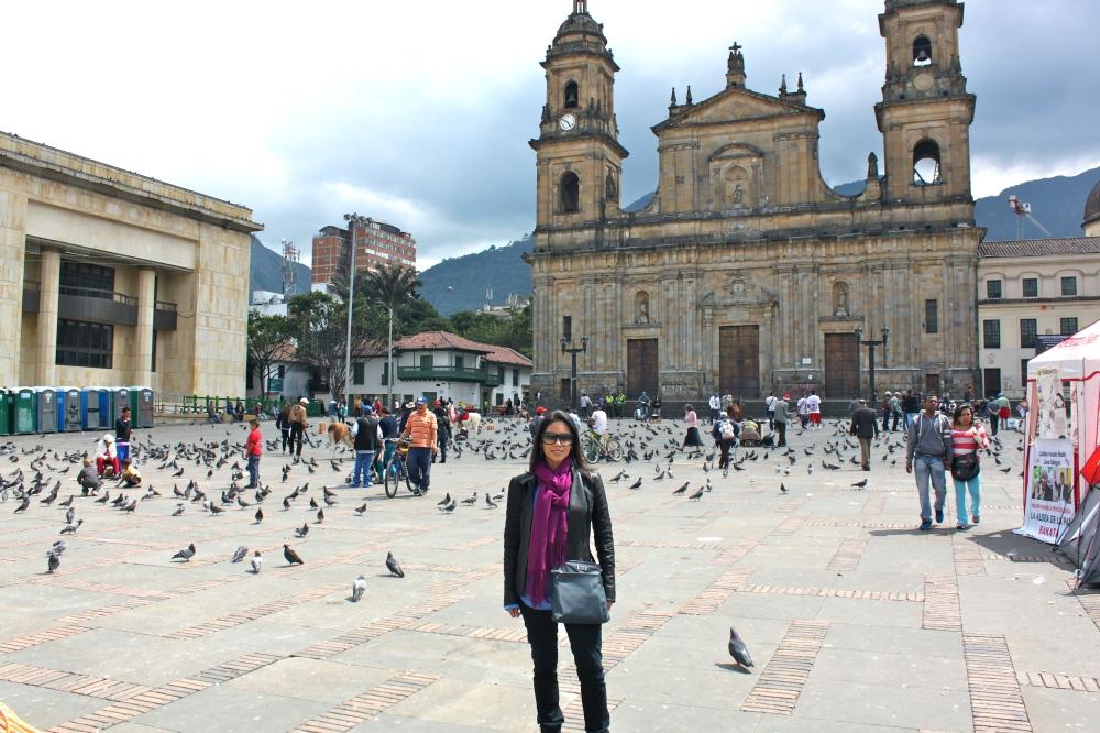 Plaza de Bolivar Bogotá Alicia