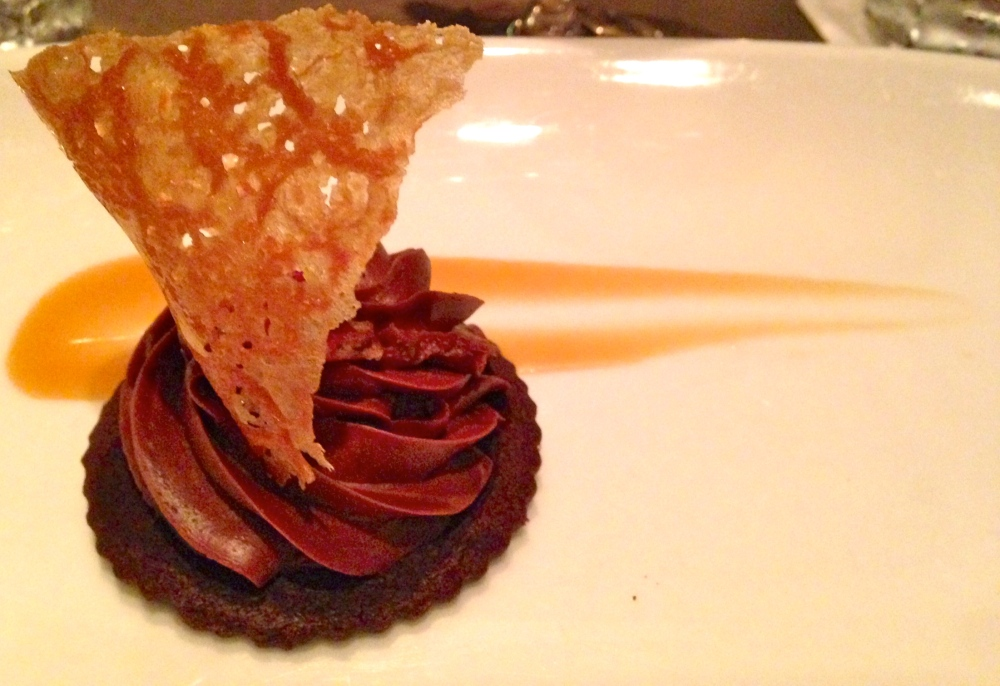 Sepia Ancho Chocolate Mousse Tart