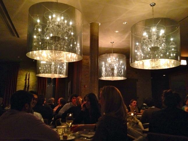 Sepia Dining Room