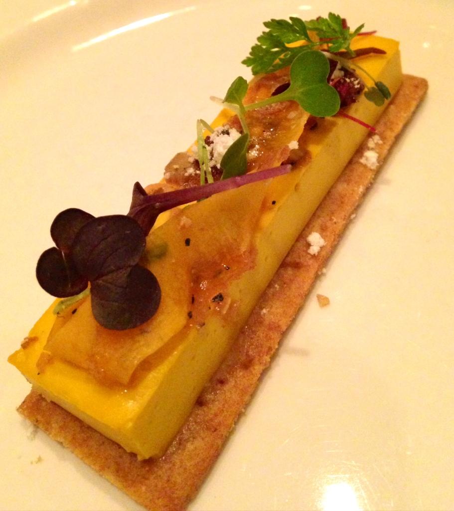 Sepia Pumpkin & Coconut Tart