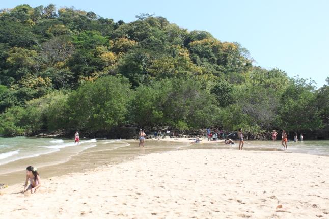 Tide Coming In Isla Taboga