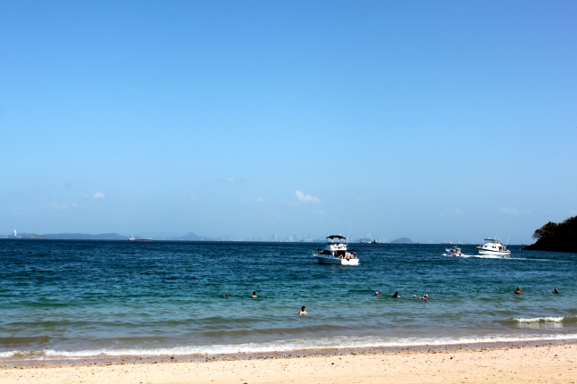 View of Panama From Taboga Island