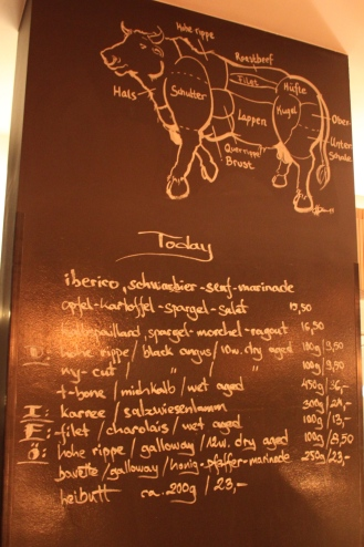 Restaurant Menu of the Day