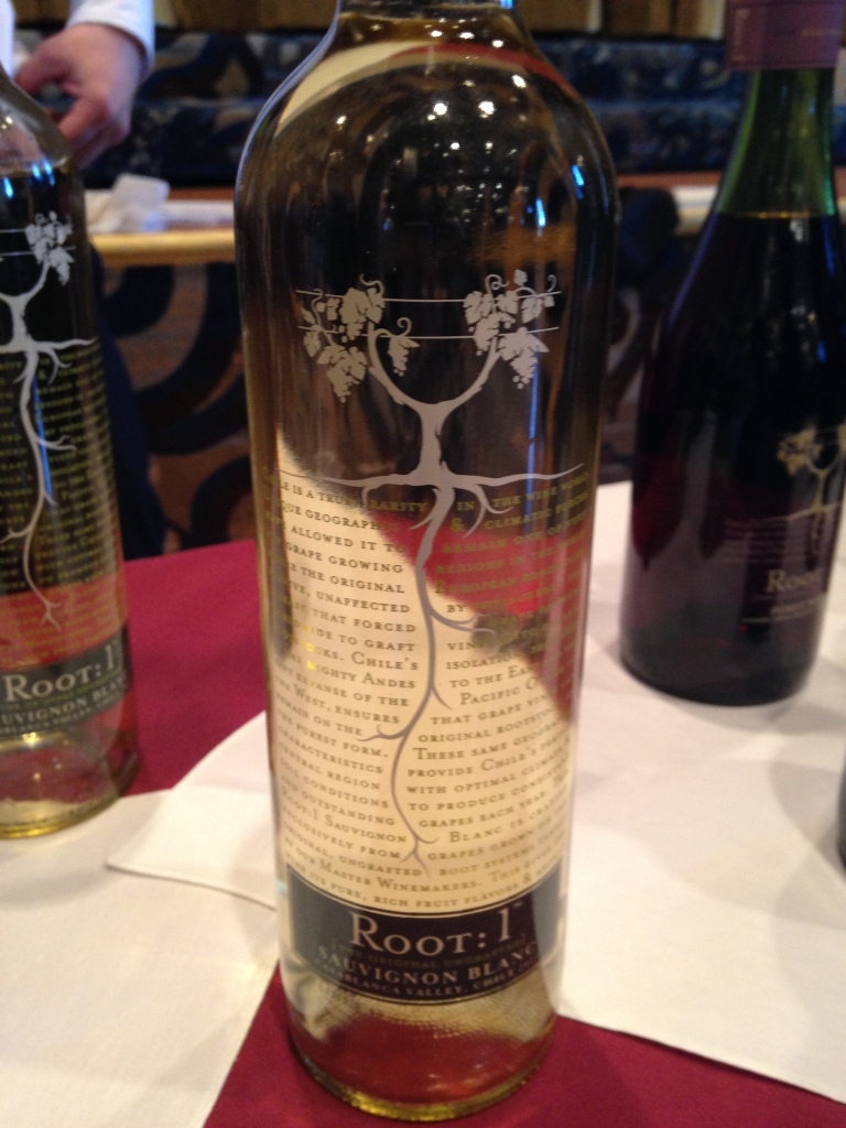 Root 1 wine Sauvignon Blanc