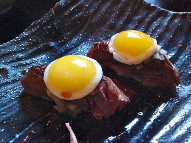 Tanta Chicago NIGUIRIS NIKEI skirt steak